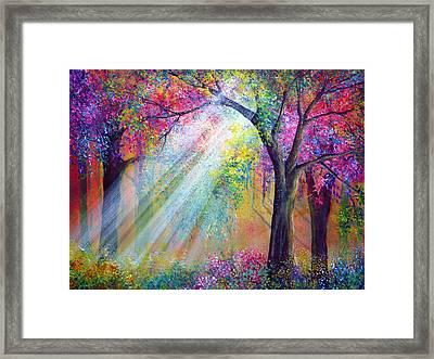 Elation Framed Print by Ann Marie Bone