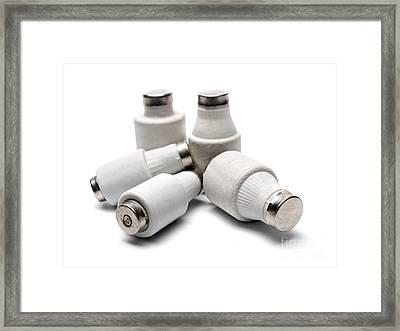 Electric Fuses Framed Print by Sinisa Botas
