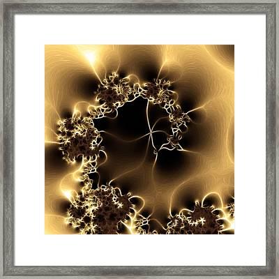 Electric Shock Framed Print by Sharon Lisa Clarke