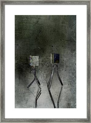Electrical Circuits Framed Print by Toppart Sweden