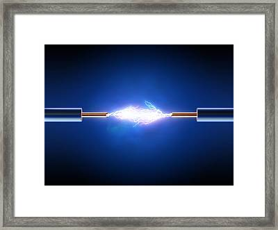 Electric Current / Energy / Transfer Framed Print by Johan Swanepoel