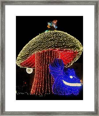 Electrical Wonderland Framed Print by Benjamin Yeager