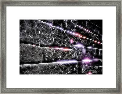 Electricity Framed Print by Terry Weaver