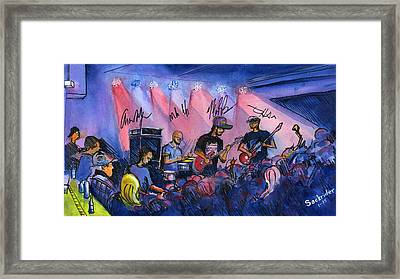 Electron At The Barkley Framed Print by David Sockrider