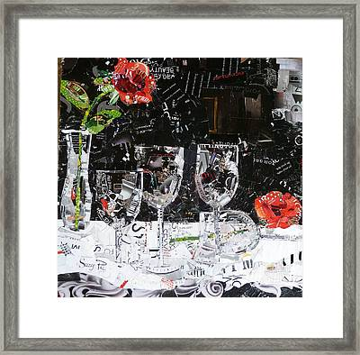 Elegance Is An Attitude Framed Print by Suzy Pal Powell