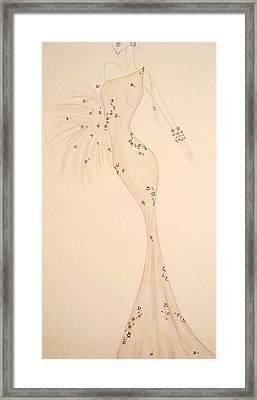 Elegant Neutrals Framed Print by Christine Corretti
