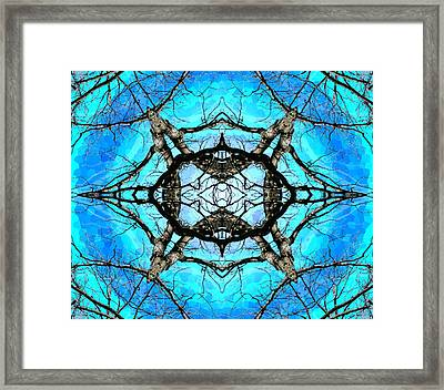 Elemental Force Framed Print by Shawna Rowe