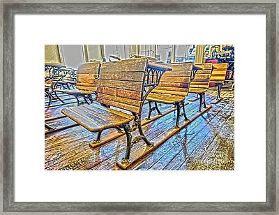 Elementary 2 Framed Print by Cheryl Young