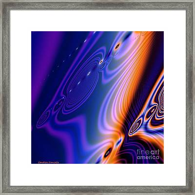 Elements Framed Print by Candice Danielle Hughes