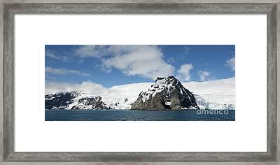 Elephant Island, Point Wild, Antarctica Framed Print by Steve Jones
