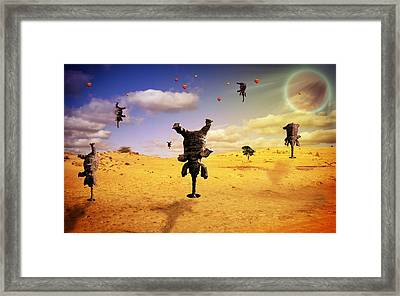 Elephant Life  Framed Print by Mark Ashkenazi
