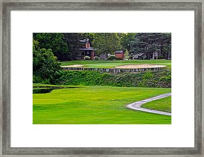 Elevated Green Framed Print by Frozen in Time Fine Art Photography