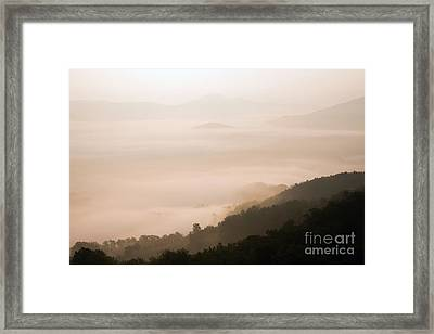 Elevations Framed Print by Bedros Awak