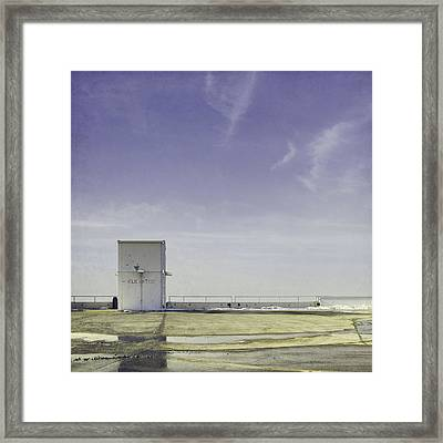 Elevator Framed Print by Scott Norris