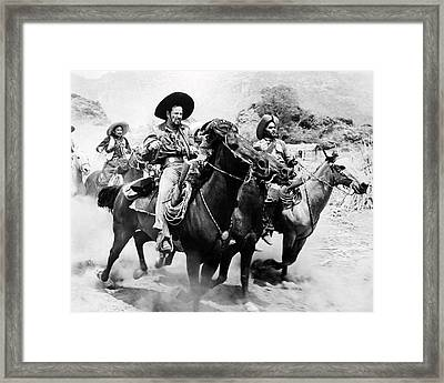 Eli Wallach In The Magnificent Seven  Framed Print by Silver Screen