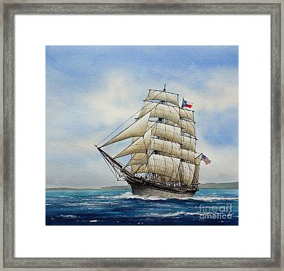 Elissa Framed Print by James Williamson