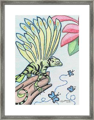 3-to-eat Framed Print by Tawny Halterman