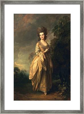 Elizabeth Beaufoy, Later Elizabeth Framed Print by Thomas Gainsborough