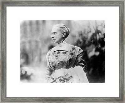 Ella Flagg Young (1845-1918) Framed Print by Granger