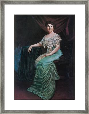 Ellen Wilson, First Lady Framed Print by Science Source