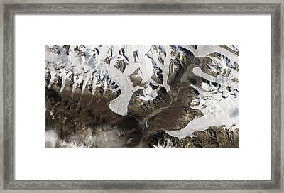 Ellesmere Island Framed Print by Nasa Earth Observatory