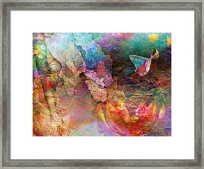Elusive Dreams Part Two Framed Print by Jacky Gerritsen