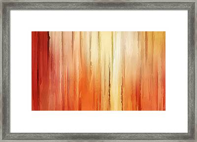 Elusive View Framed Print by Lourry Legarde