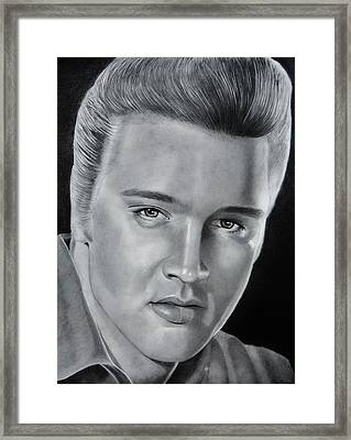 Elvis 56 Framed Print by Brian Broadway