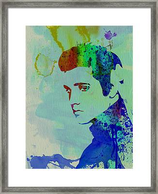 Elvis Framed Print by Naxart Studio