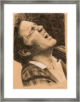 Elvis Studio '56 Framed Print by Rob De Vries