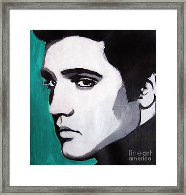 Elvis Framed Print by Venus