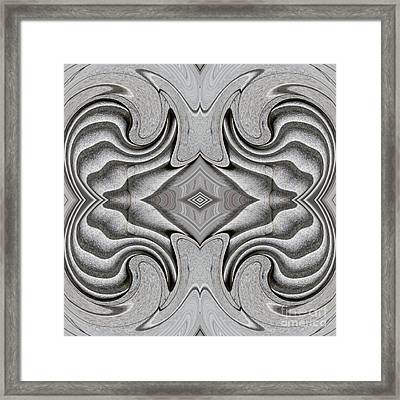 Embellishment In Concrete 5 Framed Print by Sarah Loft
