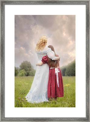 Embrace Framed Print by Joana Kruse