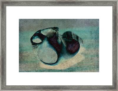 Embrace Framed Print by WB Johnston