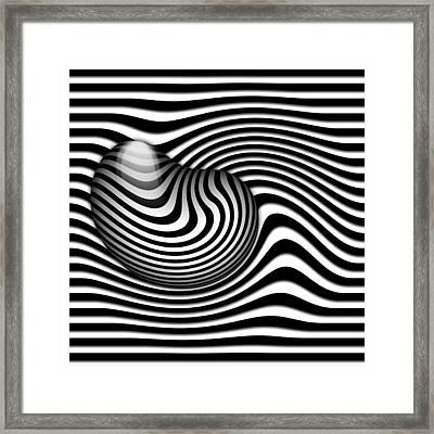 Embryo Framed Print by manhART
