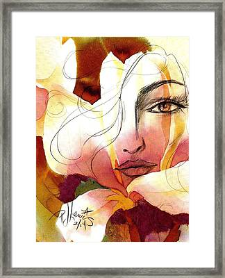 Emely Framed Print by P J Lewis