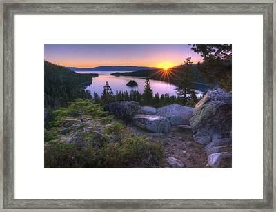 Emerald Bay Framed Print by Sean Foster
