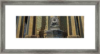 Emerald Buddha, Wat Phra Keo, Bangkok Framed Print by Panoramic Images