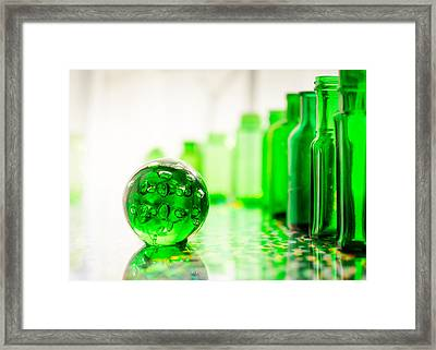 Emerald City I Framed Print by Jon Woodhams