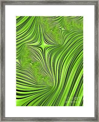 Emerald Scream Framed Print by John Edwards