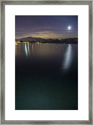 Emerald Waters Framed Print by Brad Scott