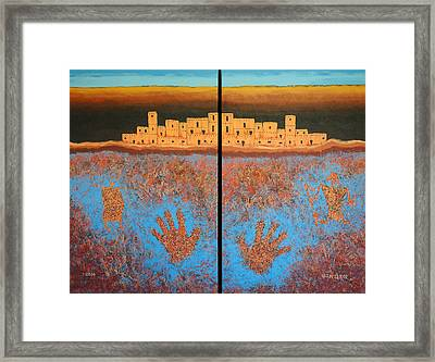 Emergence Framed Print by Jerry McElroy