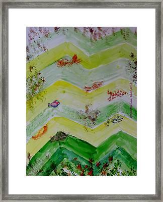 Emergence Of Life Framed Print by Sonali Gangane