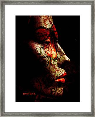 Emergence Framed Print by The Feathered Lady