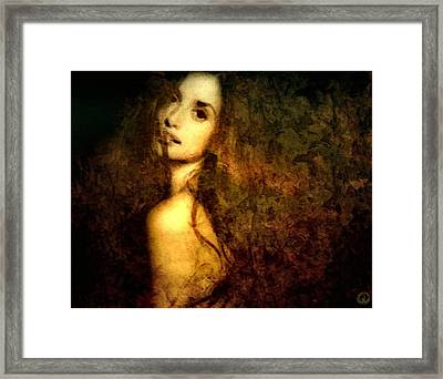 Emerging Framed Print by Gun Legler