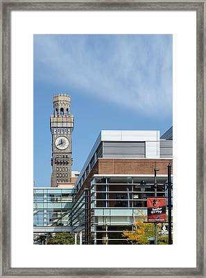 Emerson Bromo-seltzer Tower Framed Print by Susan Candelario