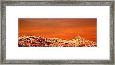 Emigrant Gap Framed Print by Bill Gallagher