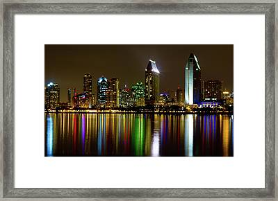 Eminent Echoes Of San Diego Framed Print by Ryan Weddle