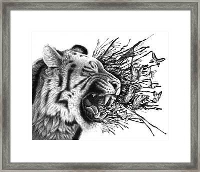 Emit Framed Print by Danielle Trudeau