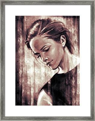 Emma Framed Print by Giulia Carnio